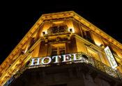 ホテルのアップ画像
