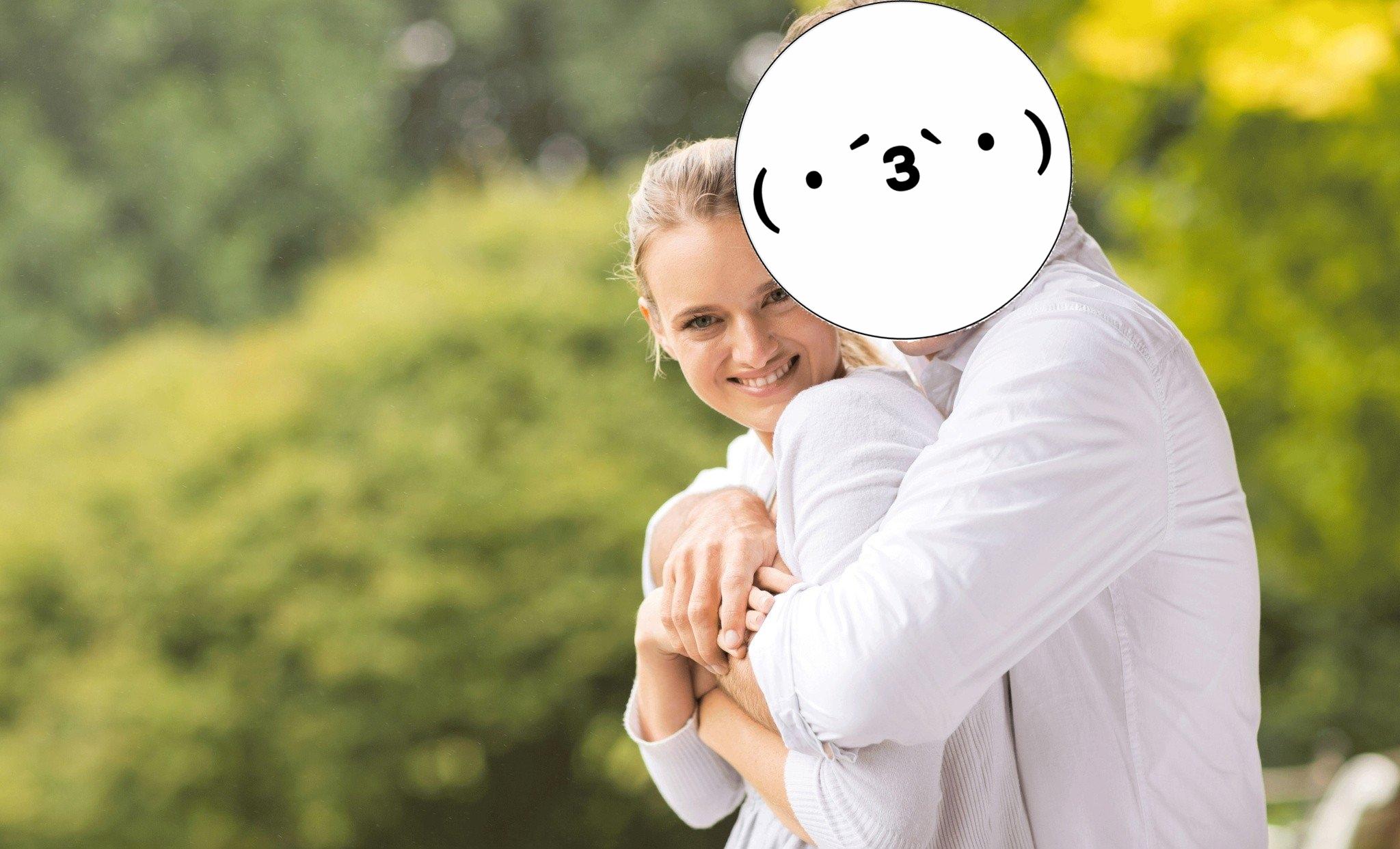 レイのあすなろ抱き